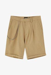 PULL&BEAR - Shorts - camel - 5