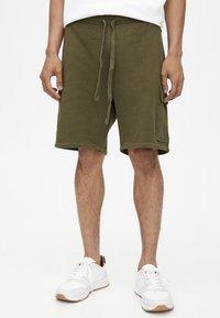 PULL&BEAR - Shorts - khaki - 0