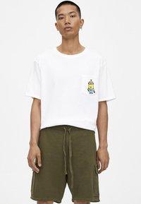 PULL&BEAR - Shorts - khaki - 3