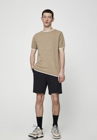 PULL&BEAR - Shorts - black - 1