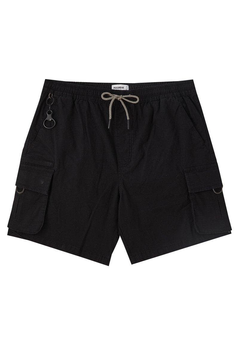 PULL&BEAR - Shorts - black