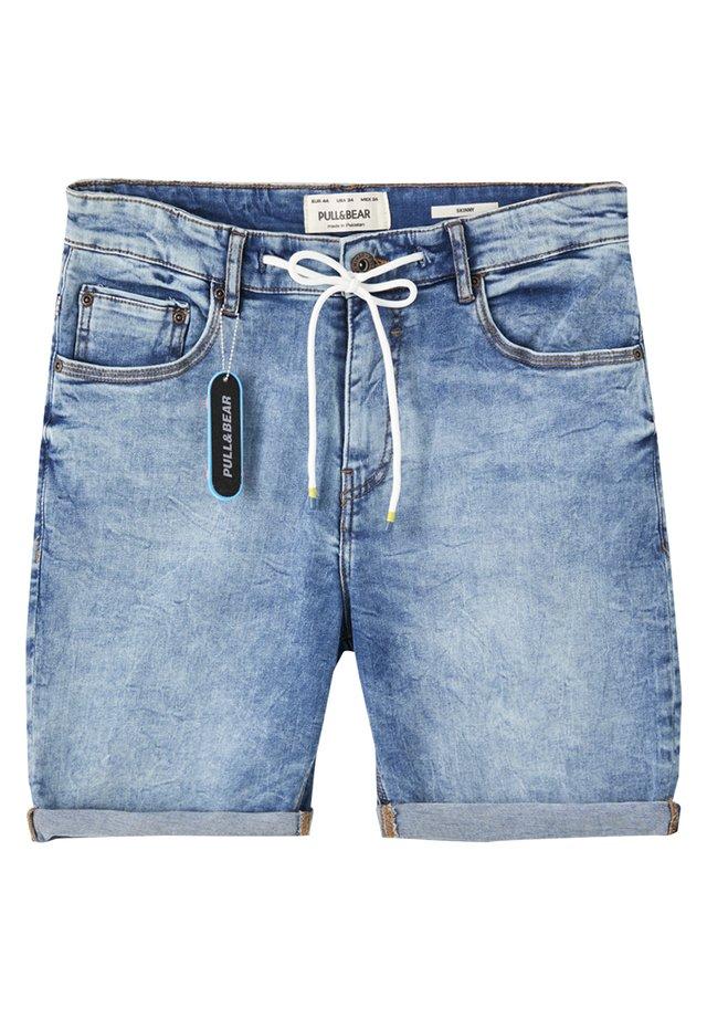 Short en jean - royal blue