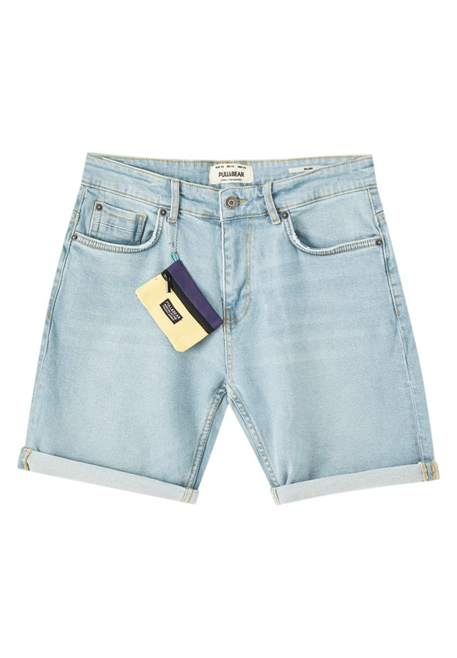 Shorts di jeans - light-blue denim