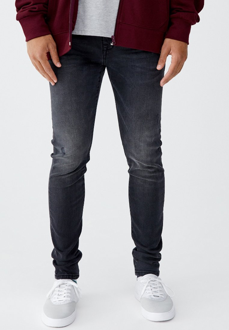 PULL&BEAR - Slim fit jeans - dark grey