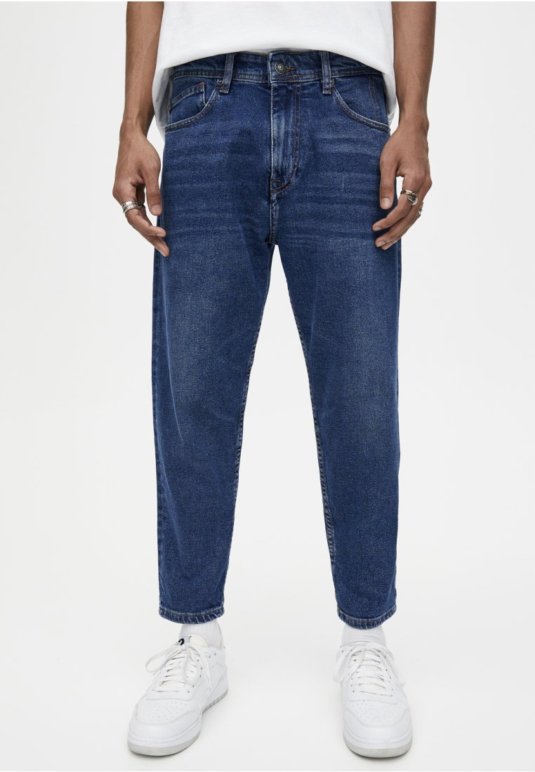 PULL&BEAR - Relaxed fit jeans - blue