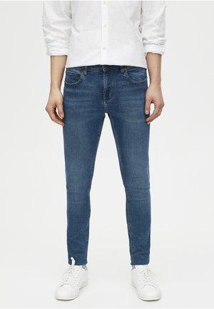 USED-LOOK - Jeans Skinny - blue denim