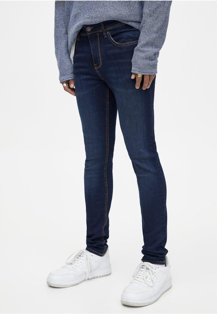 amp;bear Pull Jeans amp;bear SkinnyDark Blue SkinnyDark Pull Blue Pull Jeans mwvn0N8
