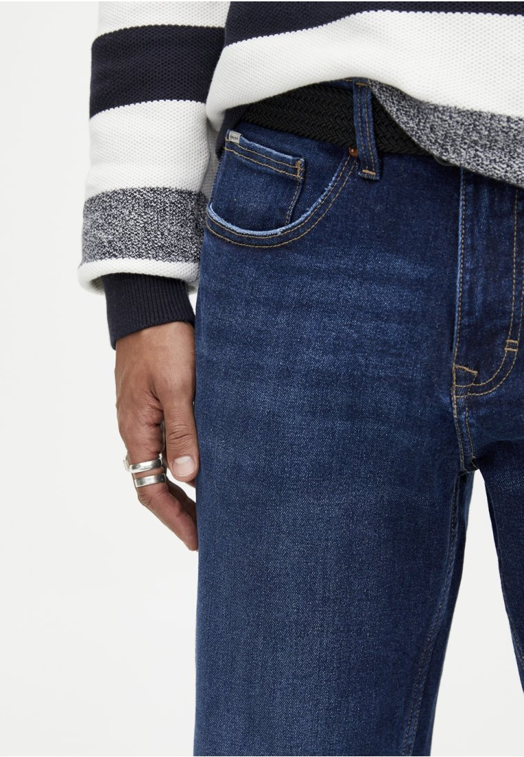 Dark Blue Jeans Pull Sigaretta A amp;bear wkXPZTOiu