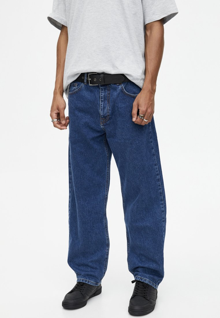 PULL&BEAR - Jeans Relaxed Fit - dark blue