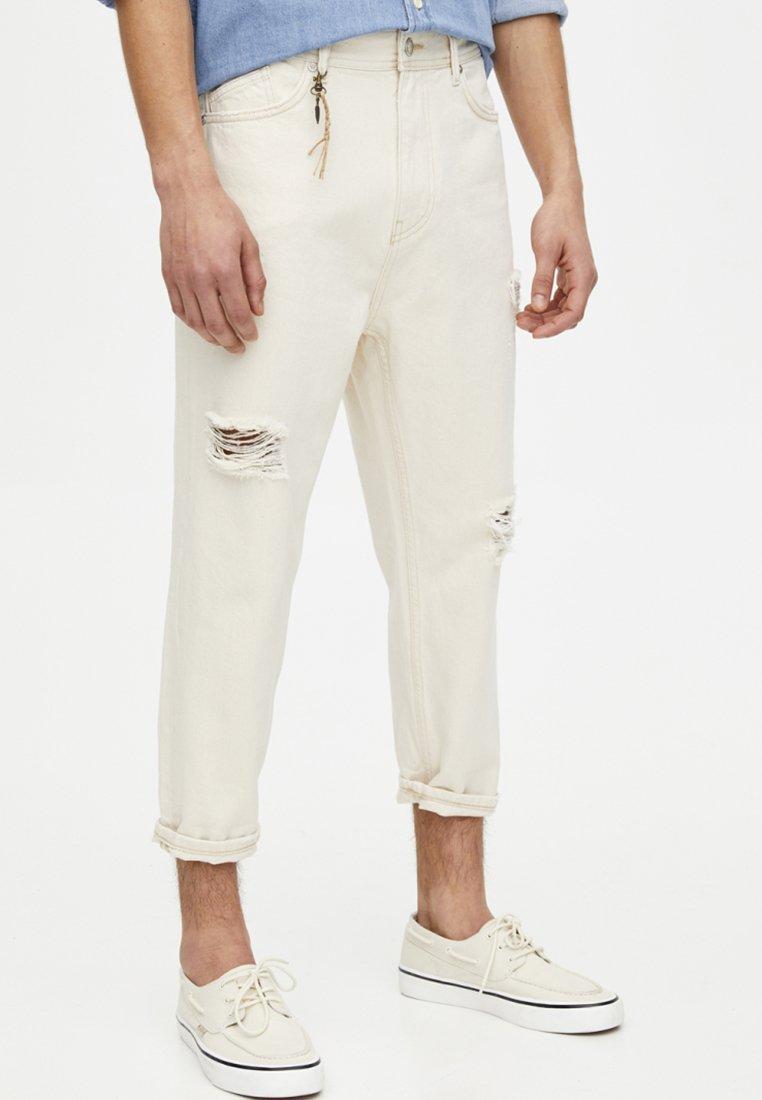 PULL&BEAR - Slim fit jeans - white