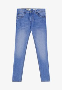 PULL&BEAR - Jeansy Slim Fit - blue - 5