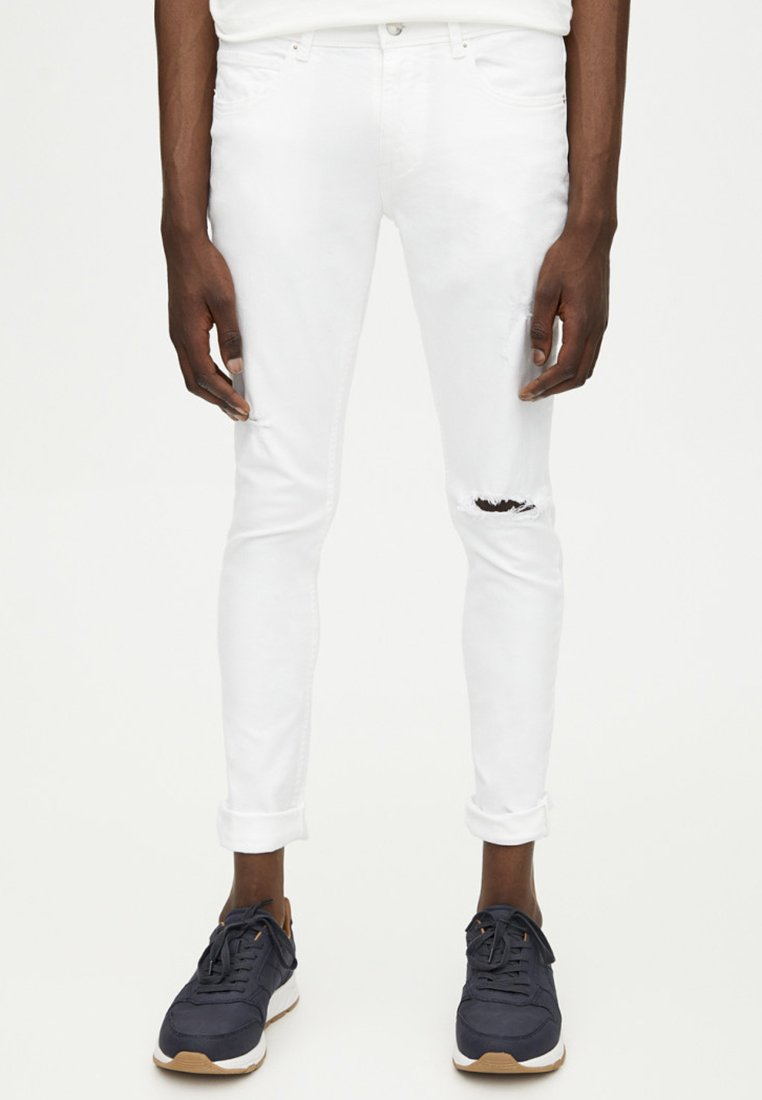 PULL&BEAR - Jeans Skinny Fit - white