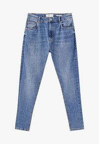 PULL&BEAR - Jeansy Slim Fit - light blue denim - 5