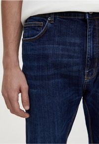 PULL&BEAR - Slim fit jeans - dark blue denim - 4