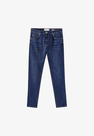Slim fit -farkut - dark blue denim