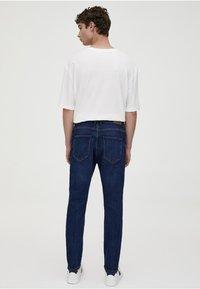 PULL&BEAR - Slim fit jeans - dark blue denim - 2