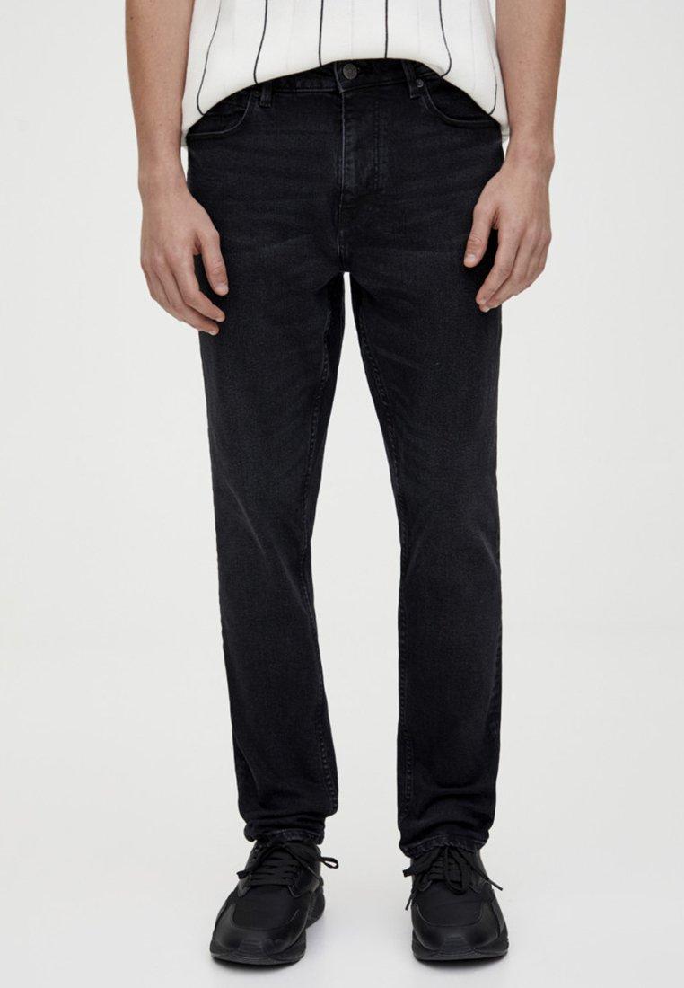 PULL&BEAR - Jeans Slim Fit - black denim