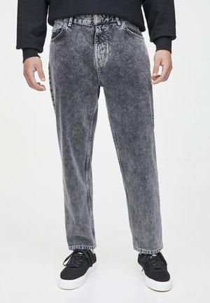 Džíny Straight Fit - dark grey