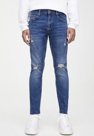 FARBIGE - Jeans Skinny Fit - dark blue