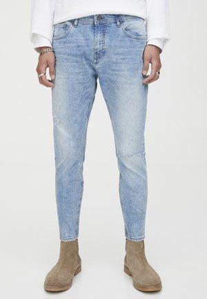 MIT RISSEN  - Jeans slim fit - blue