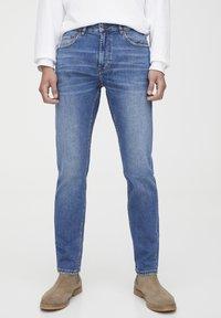 PULL&BEAR - Jeans slim fit - dark blue - 0