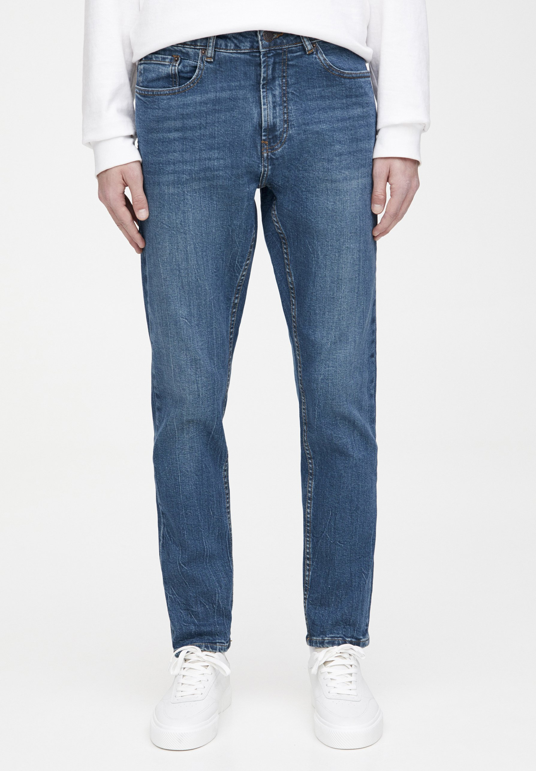 PULL&BEAR Jeansy Straight Leg - light blue