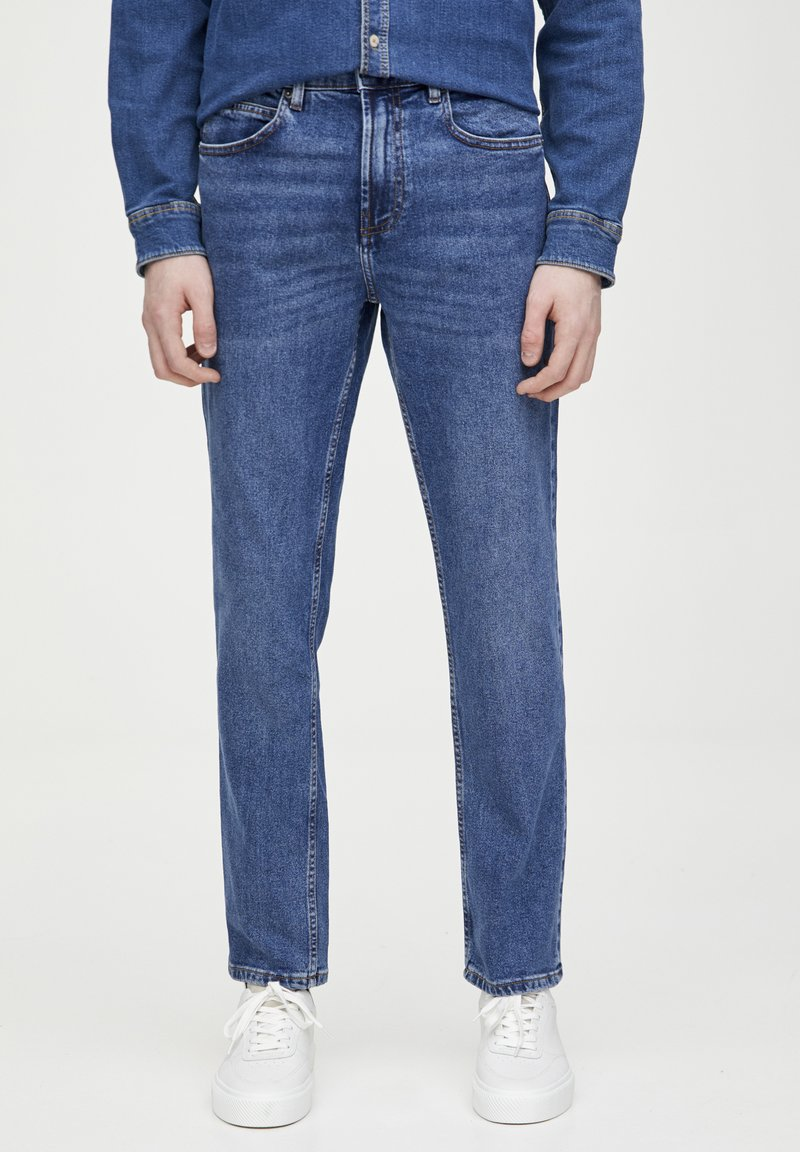 PULL&BEAR - IM REGULAR-COMFORT-FIT  - Jeans a sigaretta - blue denim