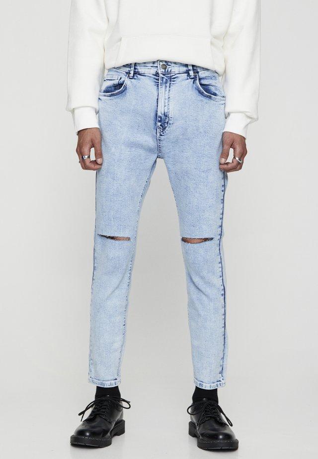 BASIC-KAROTTENJEANS 05682500 - Jeans slim fit - blue