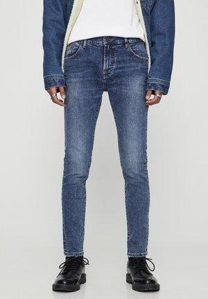 SKINNY-FIT-JEANS IN BLAUTÖNEN 05682520 - Skinny džíny - royal blue