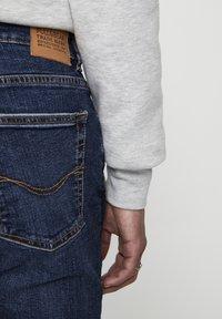 PULL&BEAR - DUNKELBLAUE SKINNY-JEANS 05682519 - Džíny Slim Fit - dark-blue denim - 3