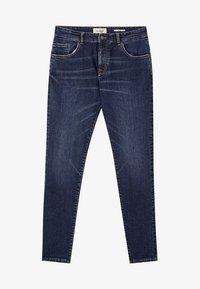 PULL&BEAR - DUNKELBLAUE SKINNY-JEANS 05682519 - Džíny Slim Fit - dark-blue denim - 5