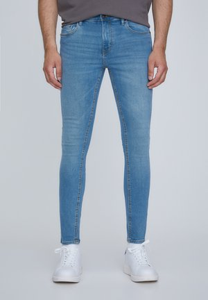SUPERSKINNY-JEANS IN BLAUGRÜN 05682506 - Jeansy Skinny Fit - royal blue