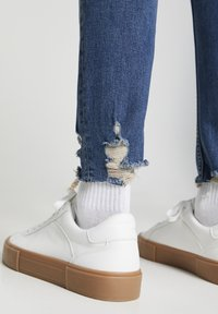PULL&BEAR - Skinny džíny - mottled dark blue - 3
