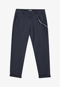 PULL&BEAR - Chinot - mottled dark blue - 6