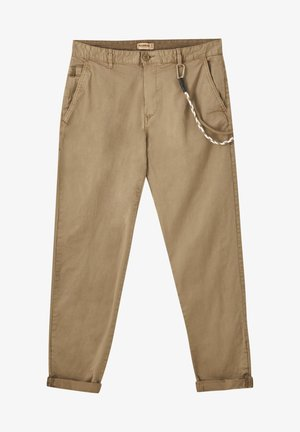 SLIM-FIT - Chino kalhoty - brown