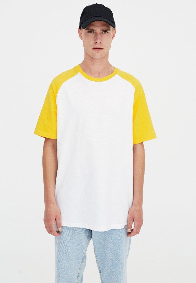 shirt T Mustard amp;bear Pull Stampa Yellow Con c3RjqS45AL