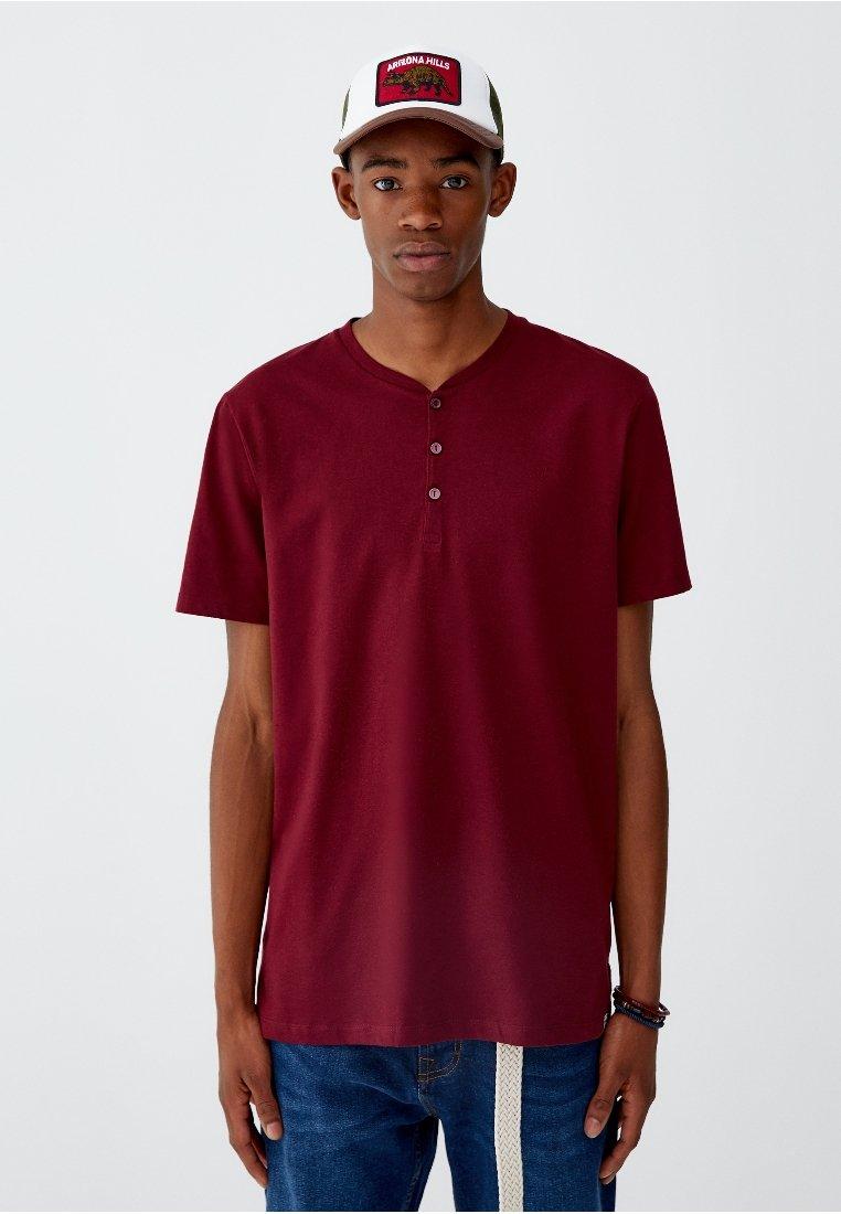 Basique Pull Join LifeT shirt Bordeaux amp;bear mNOnv0w8
