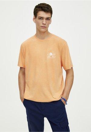 Triko spotiskem - orange