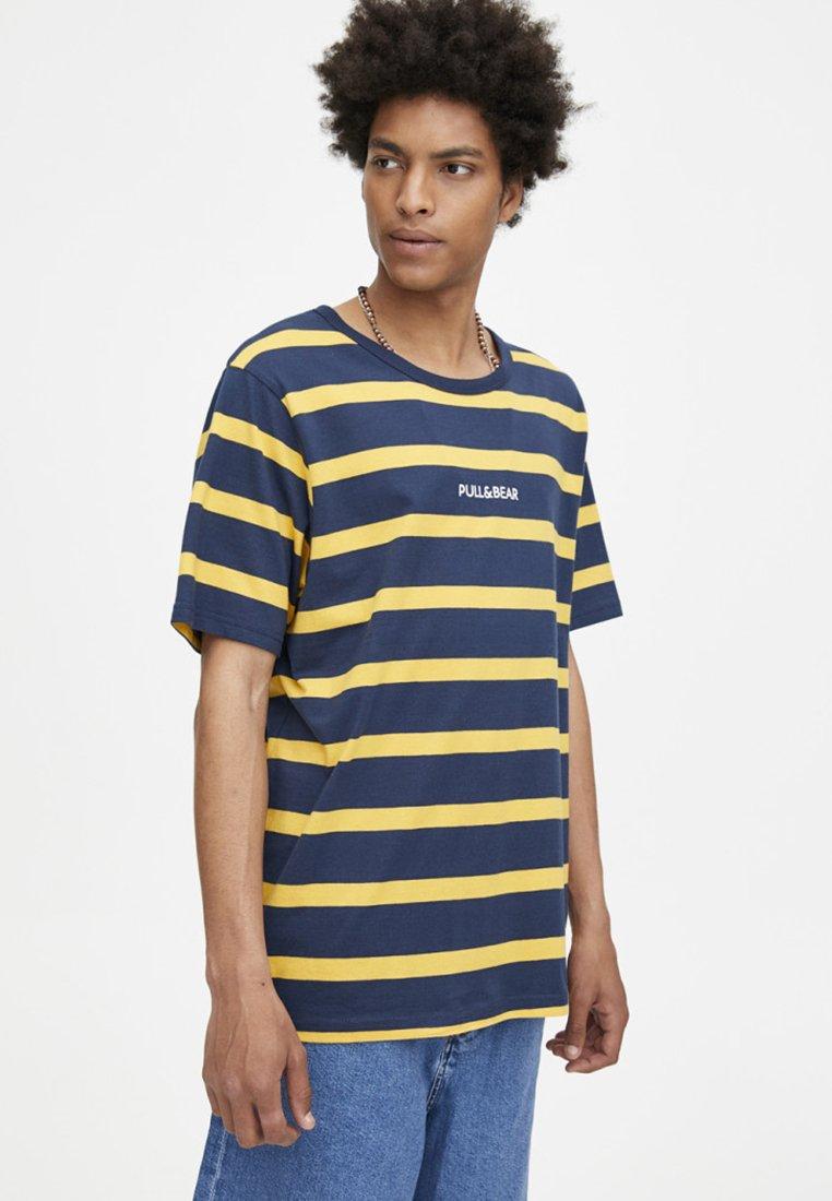 Imprimé StreifenT amp;bear Mit shirt Pull Yellow WdBexQoErC