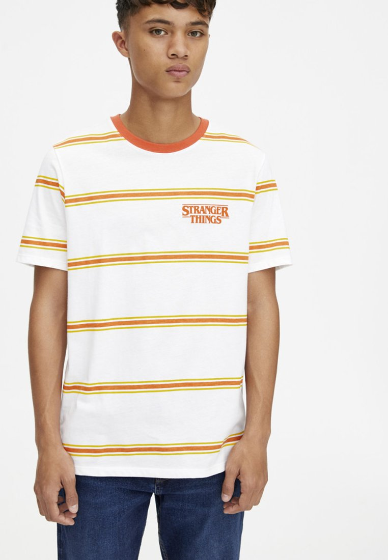 amp;bear White shirt Pull ThingsT Stranger Imprimé xQhtsdCrB