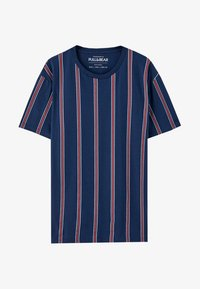 PULL&BEAR - T-Shirt print - bordeaux - 5
