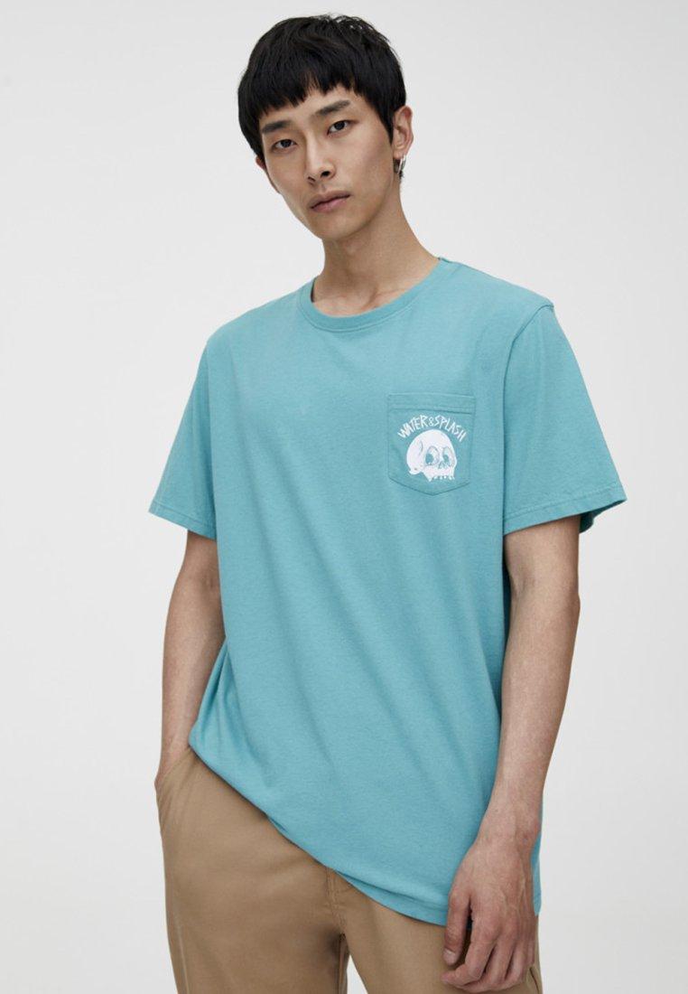 shirt Totenkopf Pull Imprimé Mit Green amp;bear Und TascheT 6gyfYb7Iv