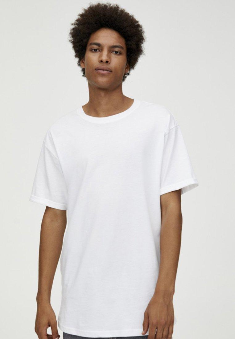 PULL&BEAR - T-paita - white