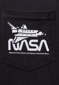 PULL&BEAR - NASA  - T-shirt con stampa - black - 3