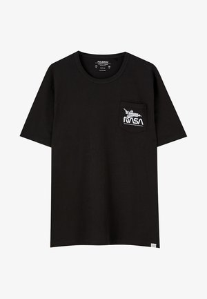 NASA  - T-shirt con stampa - black