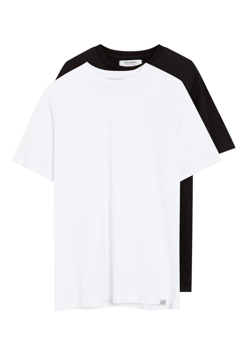 PULL&BEAR - 2 PACK - T-shirt basique - multi-coloured