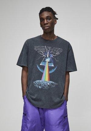 FLOYD - Print T-shirt - black