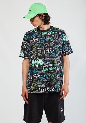 MIT GRAFFITI - Print T-shirt - black