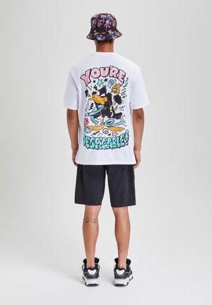 DAFFY DUCK - T-shirts print - white