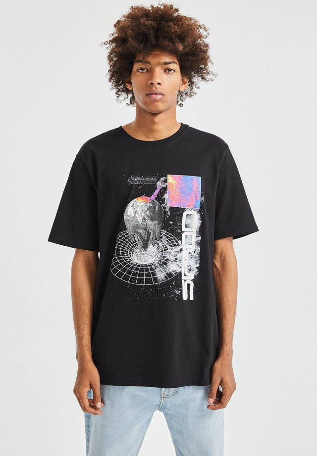 T-shirts print - black